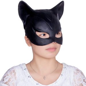 Catwoman transparent face. Mask suppliers and manufacturers