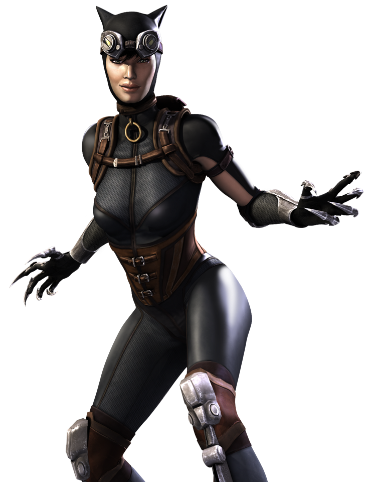 Catwoman transparent giant. Screenshots images and pictures