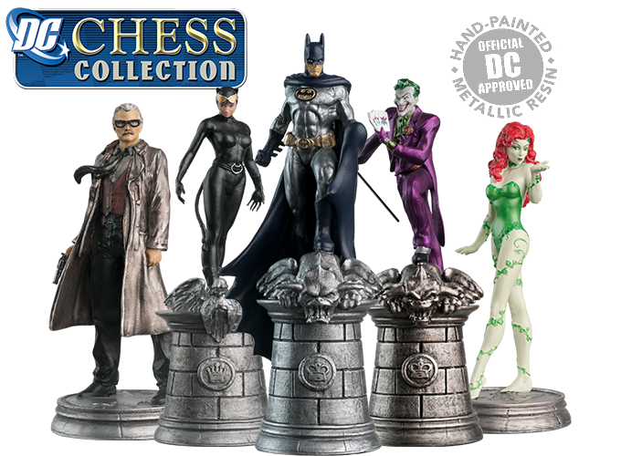 Catwoman transparent marvel comic. Dc chess collection heroes