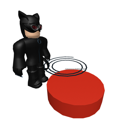 Catwoman transparent face. W whip amp changer