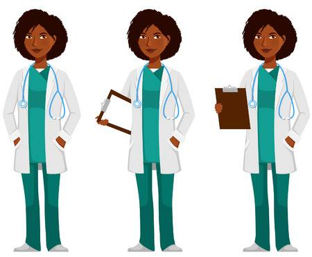 Caudle. Black doctor clipart images