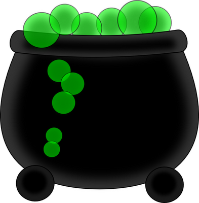 Cauldron vector green. Free witch cliparts download