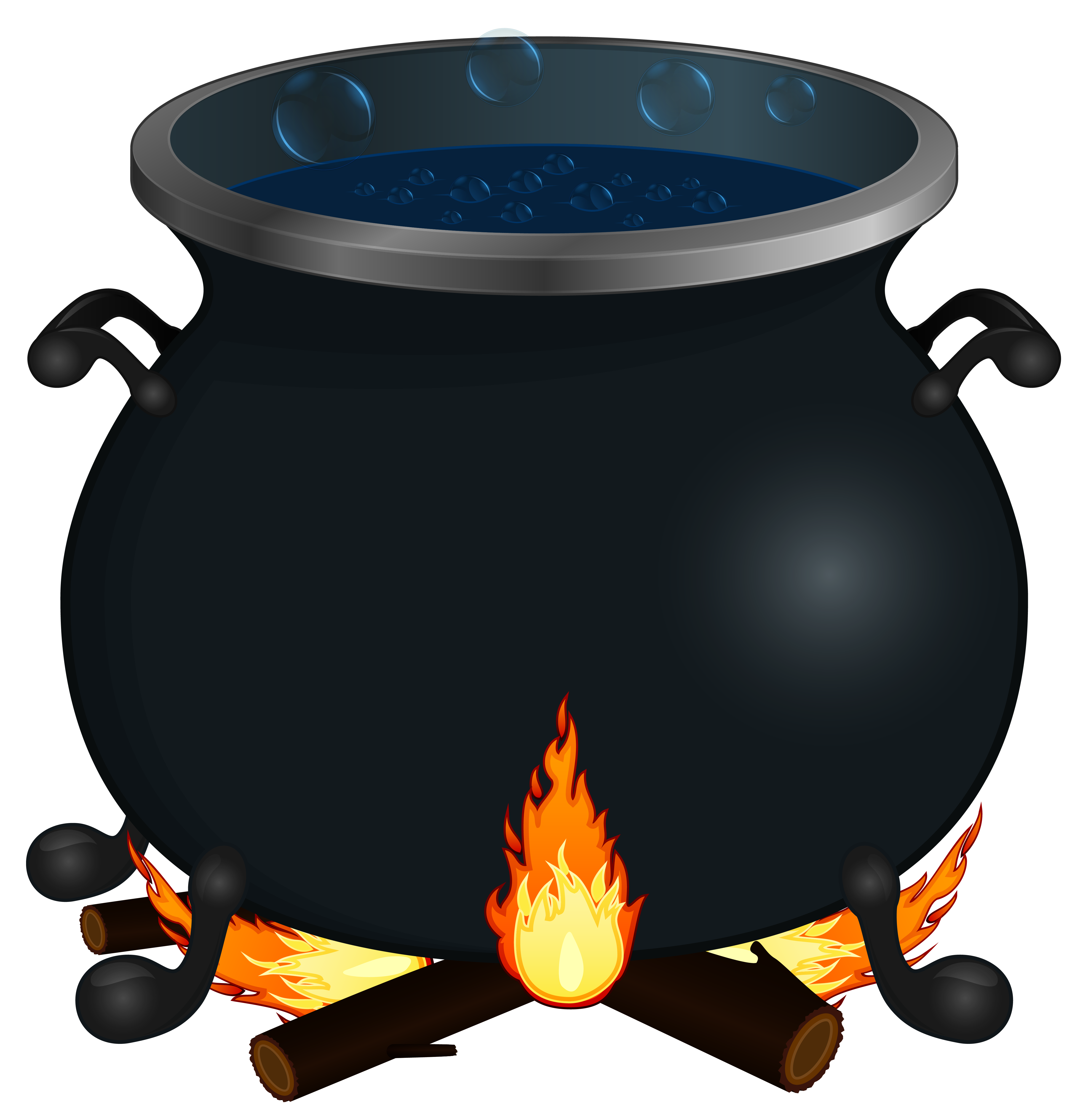 Cauldron clipart transparent background. Halloween png image gallery