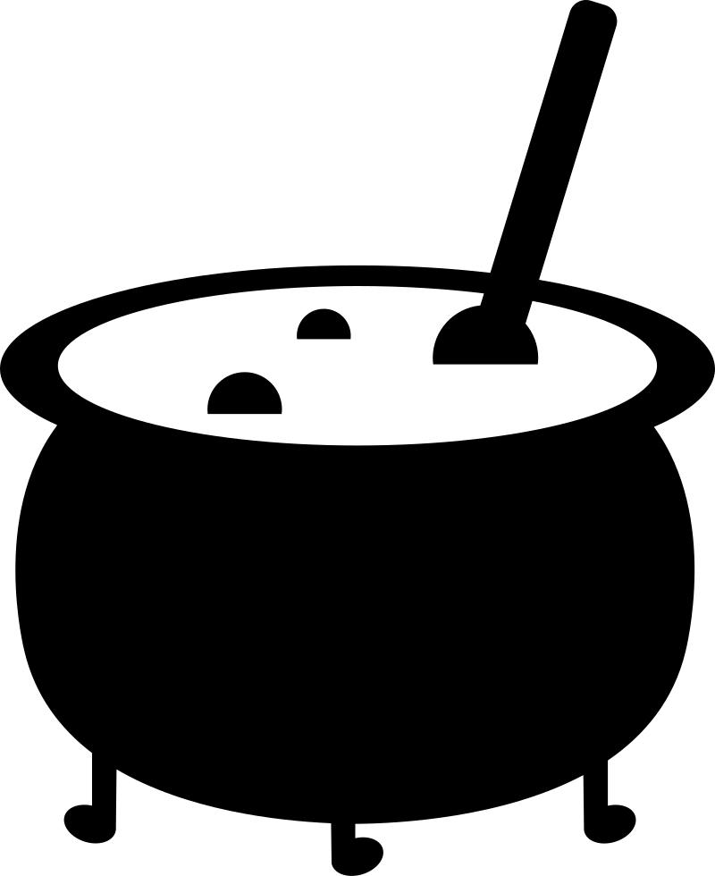 Cauldron svg. Witch png icon free