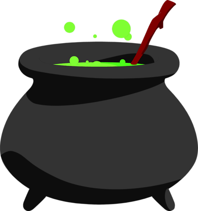 Cauldron svg boiling. Collection of free caldron