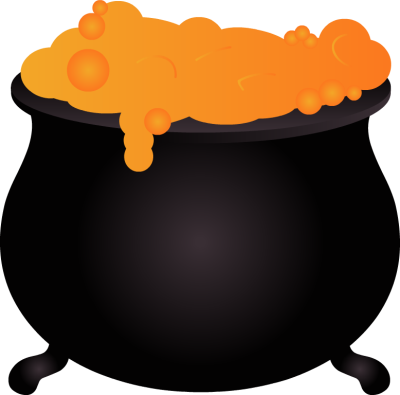 Cauldron vector halloween. Collection of free chauldron