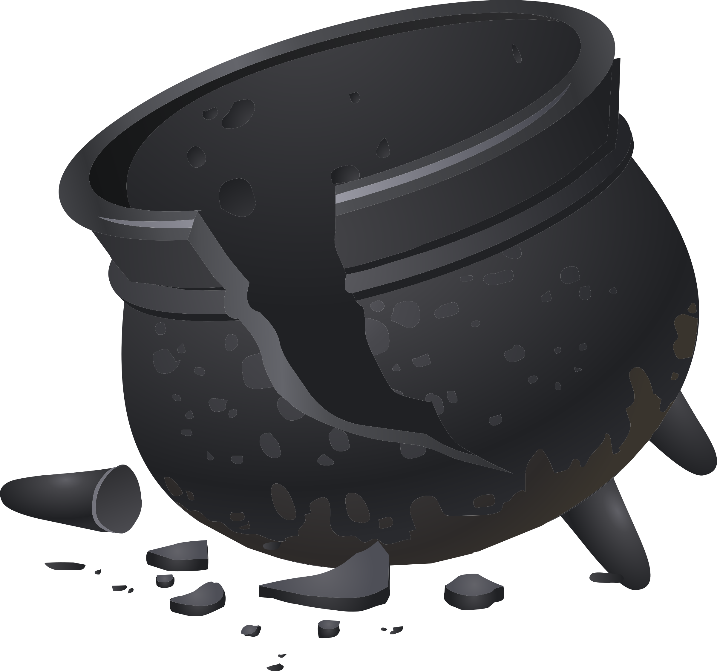 Cauldron svg outline. Tools icons png free