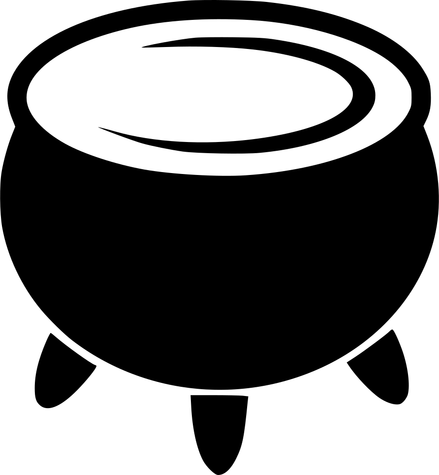 Cauldron vector gothic. Svg png icon free