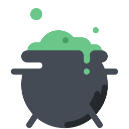 Cauldron vector. Icon free download png