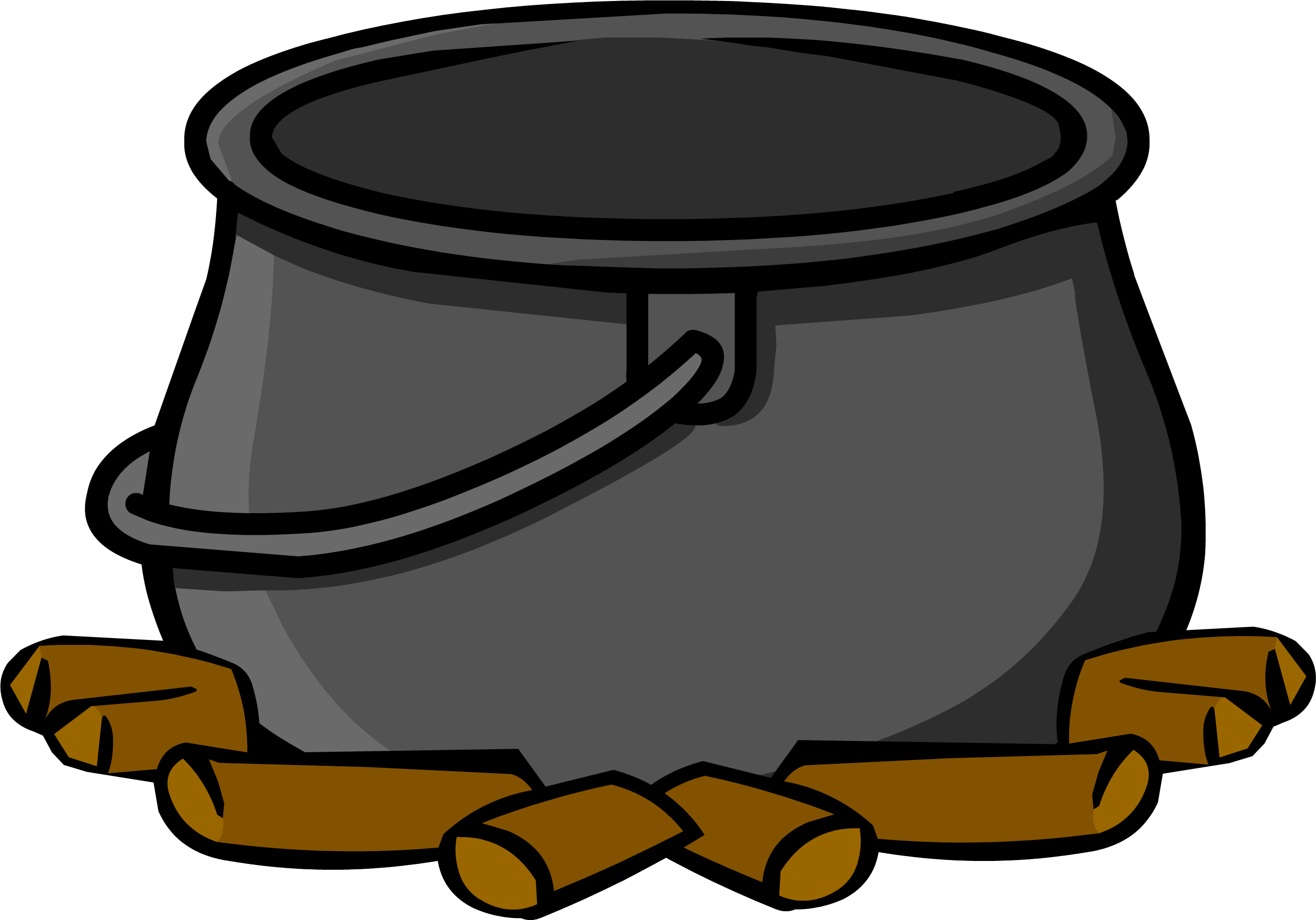 Cauldron vector gothic. Collection of free caldron