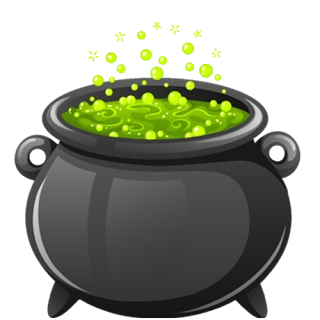 Cauldron vector macbeth. Witches encode clipart to