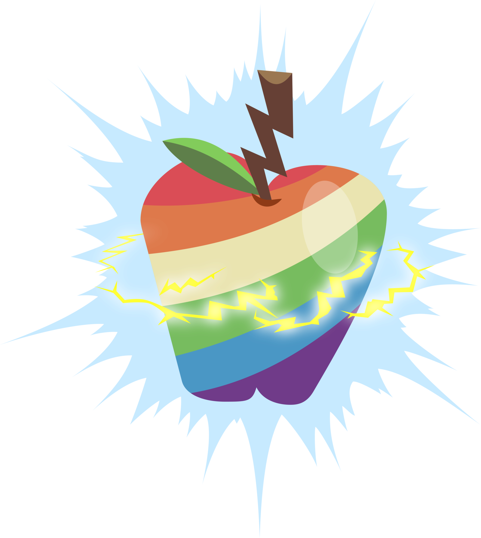 Cauldron vector mlp. Image result for rainbow