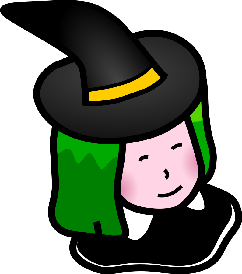Witch with clipart clip. Cauldron vector green royalty free