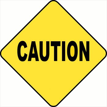 Image of clip art. Caution clipart image royalty free
