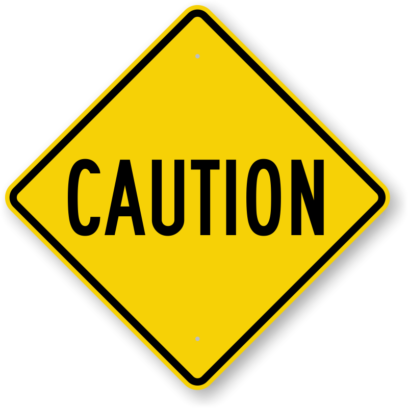 Signs free downloadable pdf. Caution clipart clip art library download