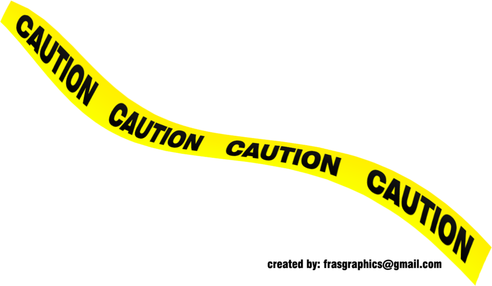Caution stripes png. Black and yellow tape