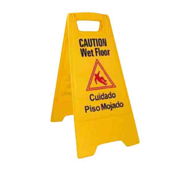 Caution wet floor png. Winco sign national equipment
