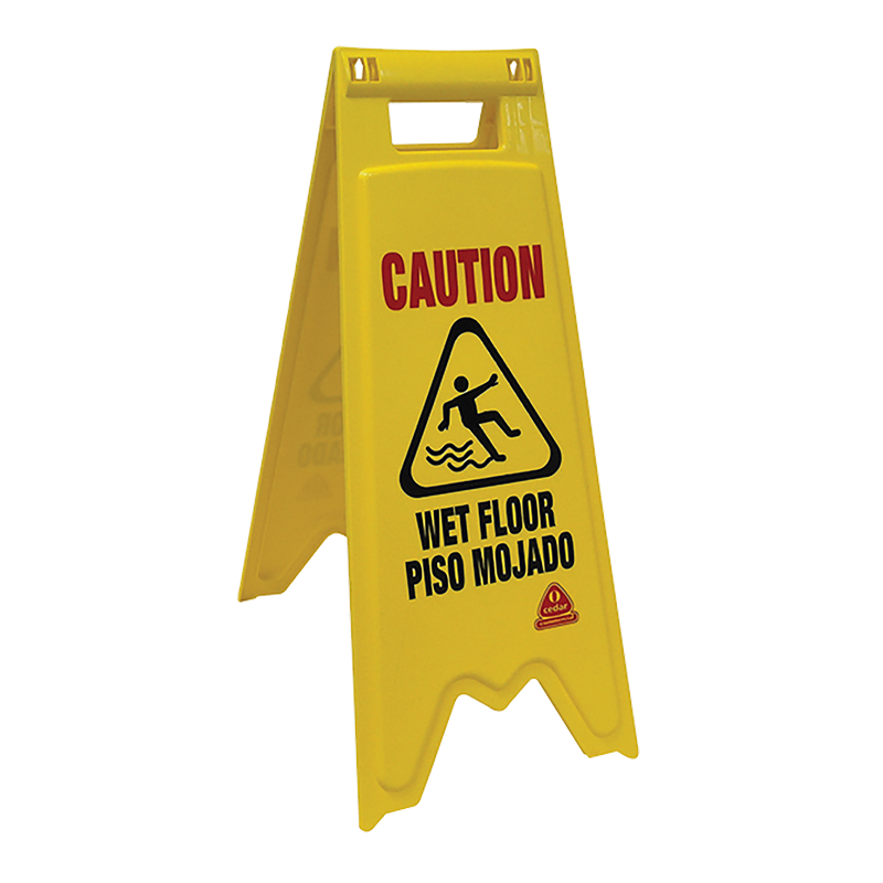 Caution wet floor png. Safety sign nexstep commercial