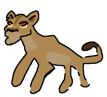Zira painting by andrewshilohjeffery. Cave clipart cave animal png royalty free library