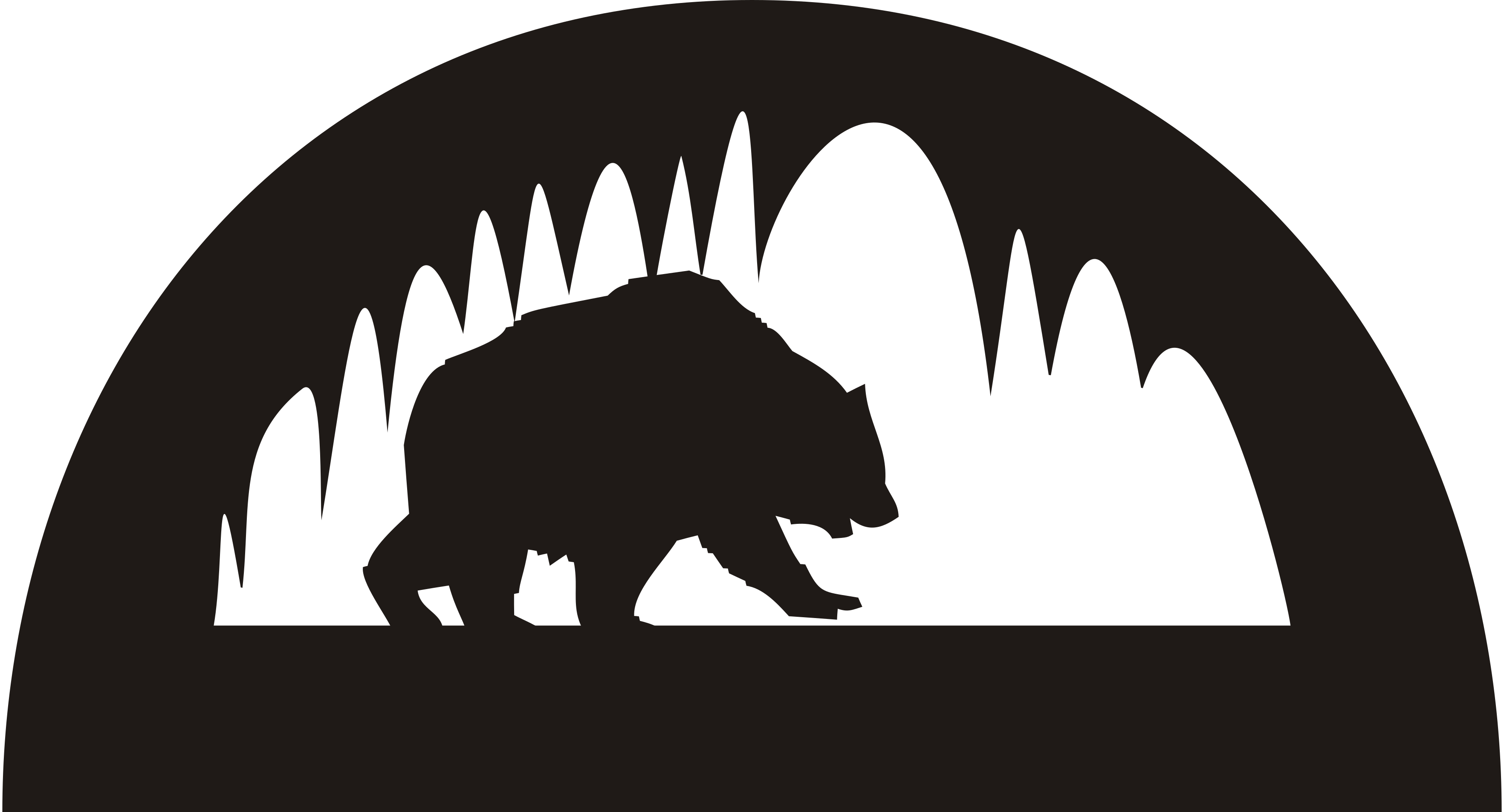 File bear svg wikipedia. Cave clipart cave animal banner black and white download