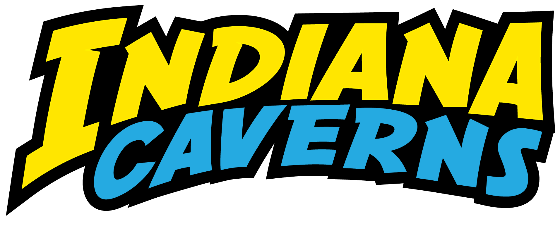 Indiana caverns s longest. Cave clipart cavern clipart black and white