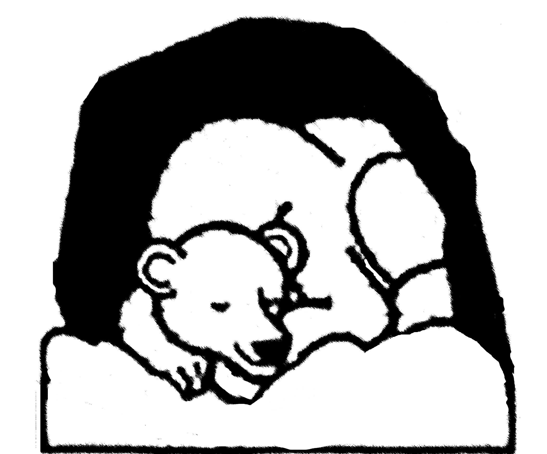 Cave clipart coloring page. Hibernating bears pages samzuniss