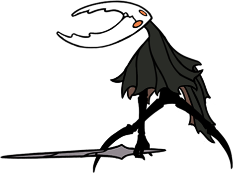 The hollow knight night. Cave clipart creepypasta vector library