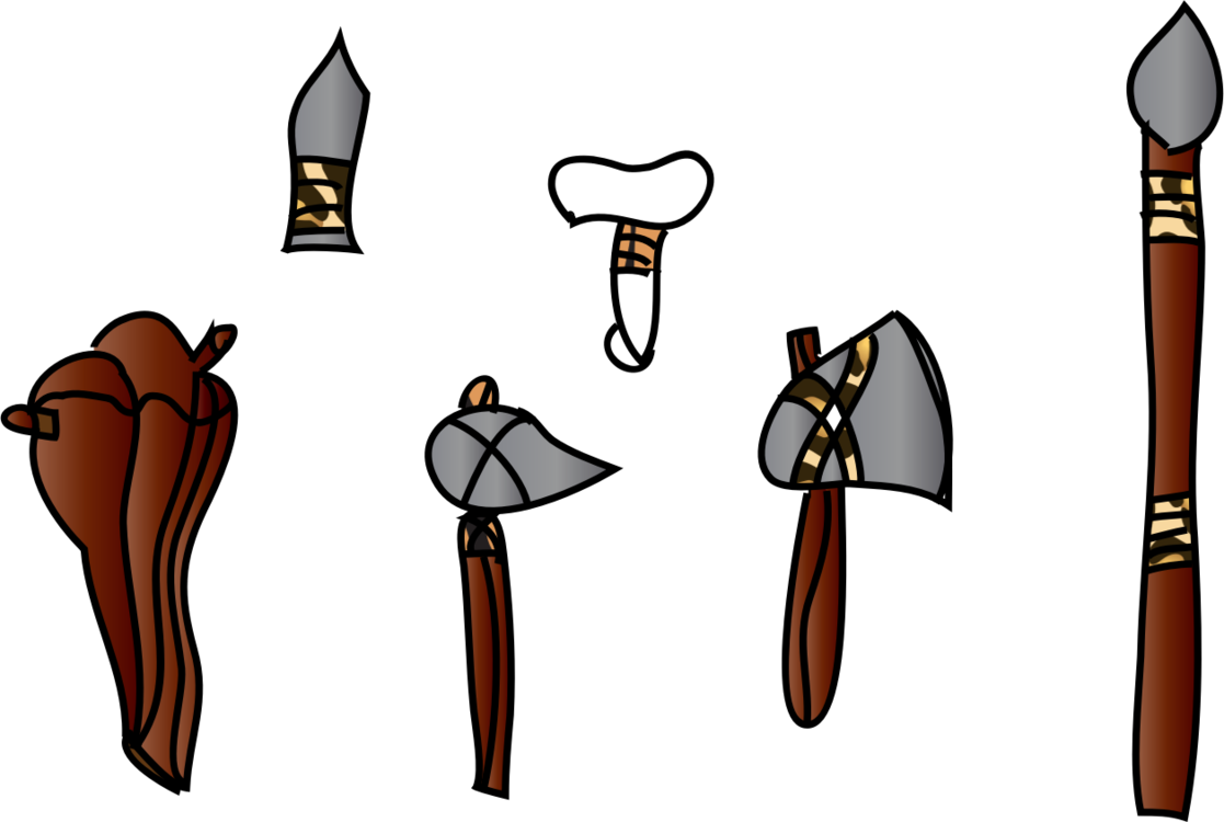 Cave clipart round stone. Prehistory arms and armor