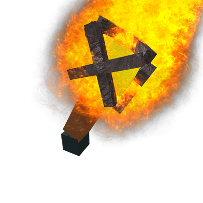 Cave torch png. Awesome roblox