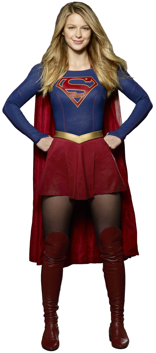 Cbs supergirl suit logo png. Transparent background by camo