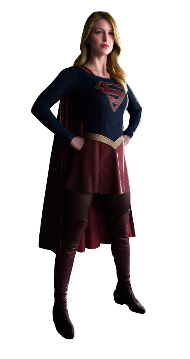 Cbs supergirl fan art png file. Render by maydaypayday on