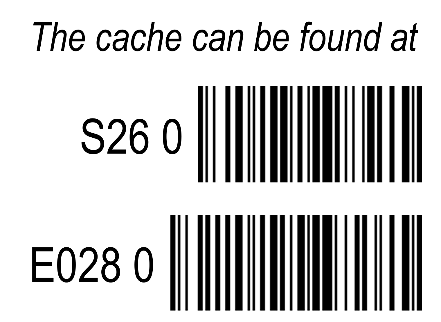 Cd barcode png. Gc w r puzzle