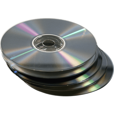 Cd transparent disk image