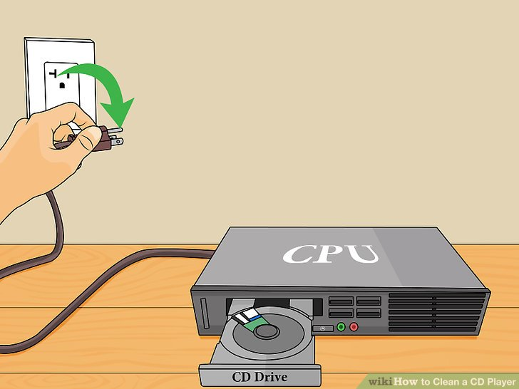 Cd clipart computer tool. How to clean a