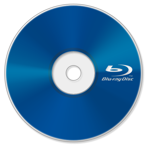Cd transparent blue