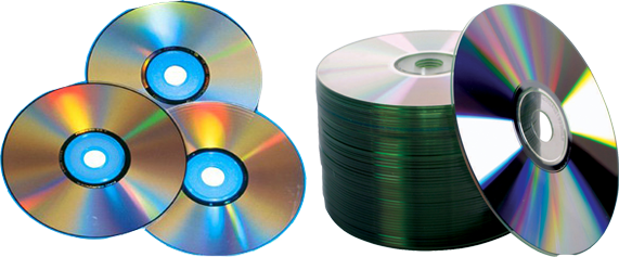 Transparent cd used. Transuniv materials for making