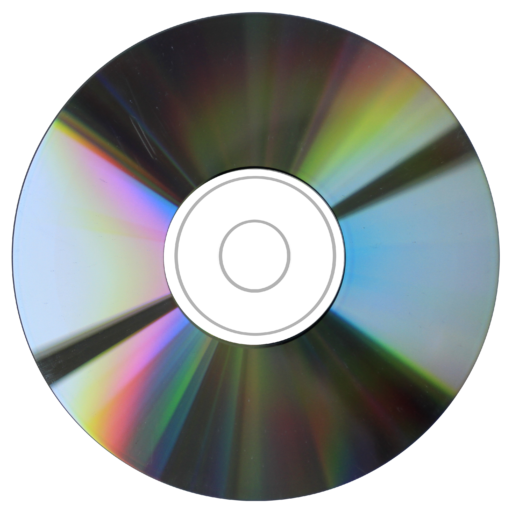 cd transparent plain