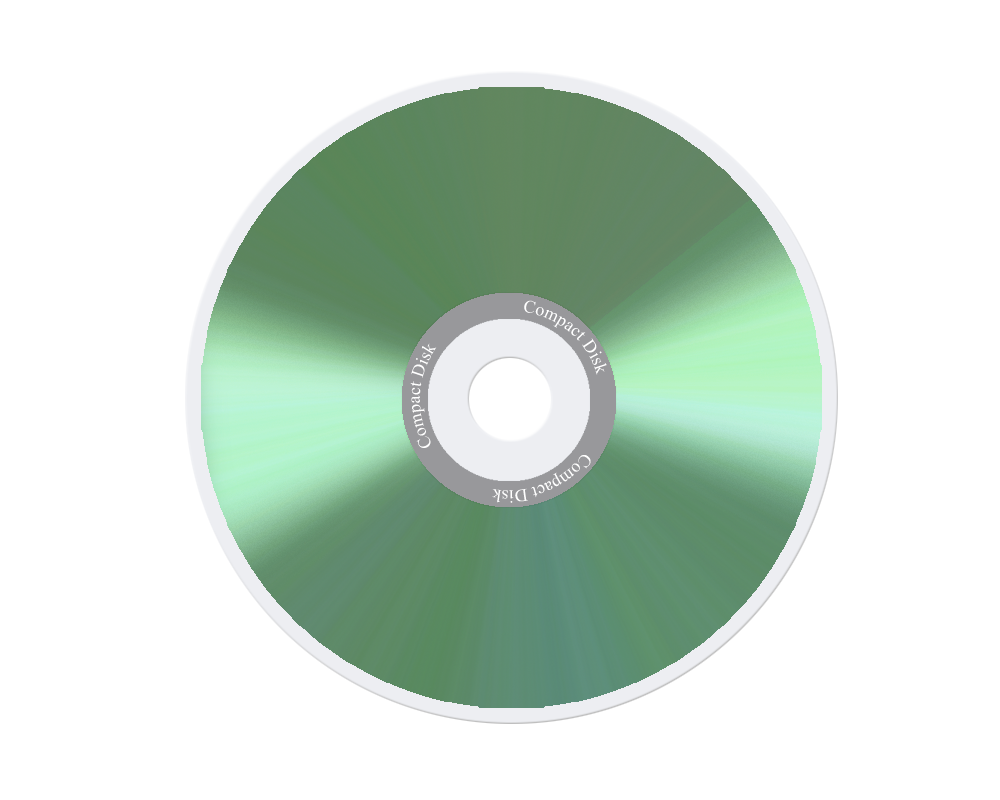Transparent cd green. Compact disk png image