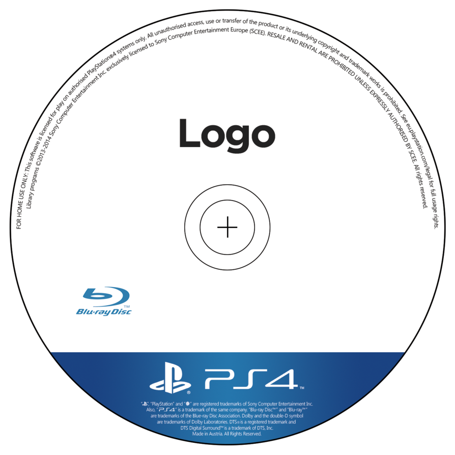 cd template png