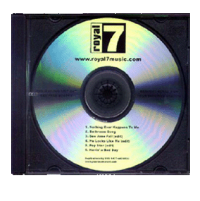 Transparent cd clear. Cds duplicated with