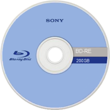 Cd transparent definition. Blu ray disc simple