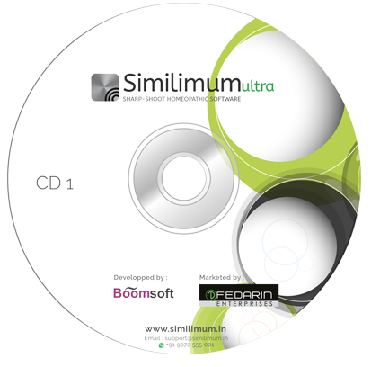 Transparent cd software. Similimum ultra homeopathic cds