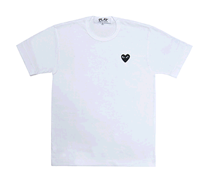 Cdg heart png. Comme des garcons play