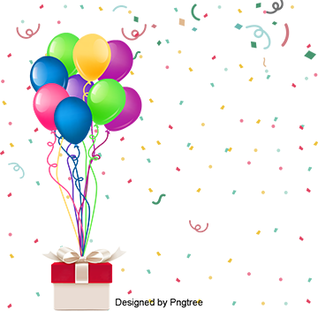 Party supplies png. Birthday clipart download free