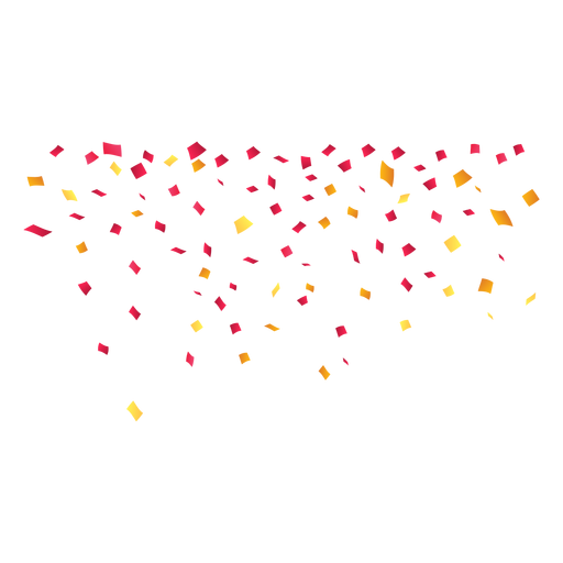 Falling confetti png. Party transparent svg vector