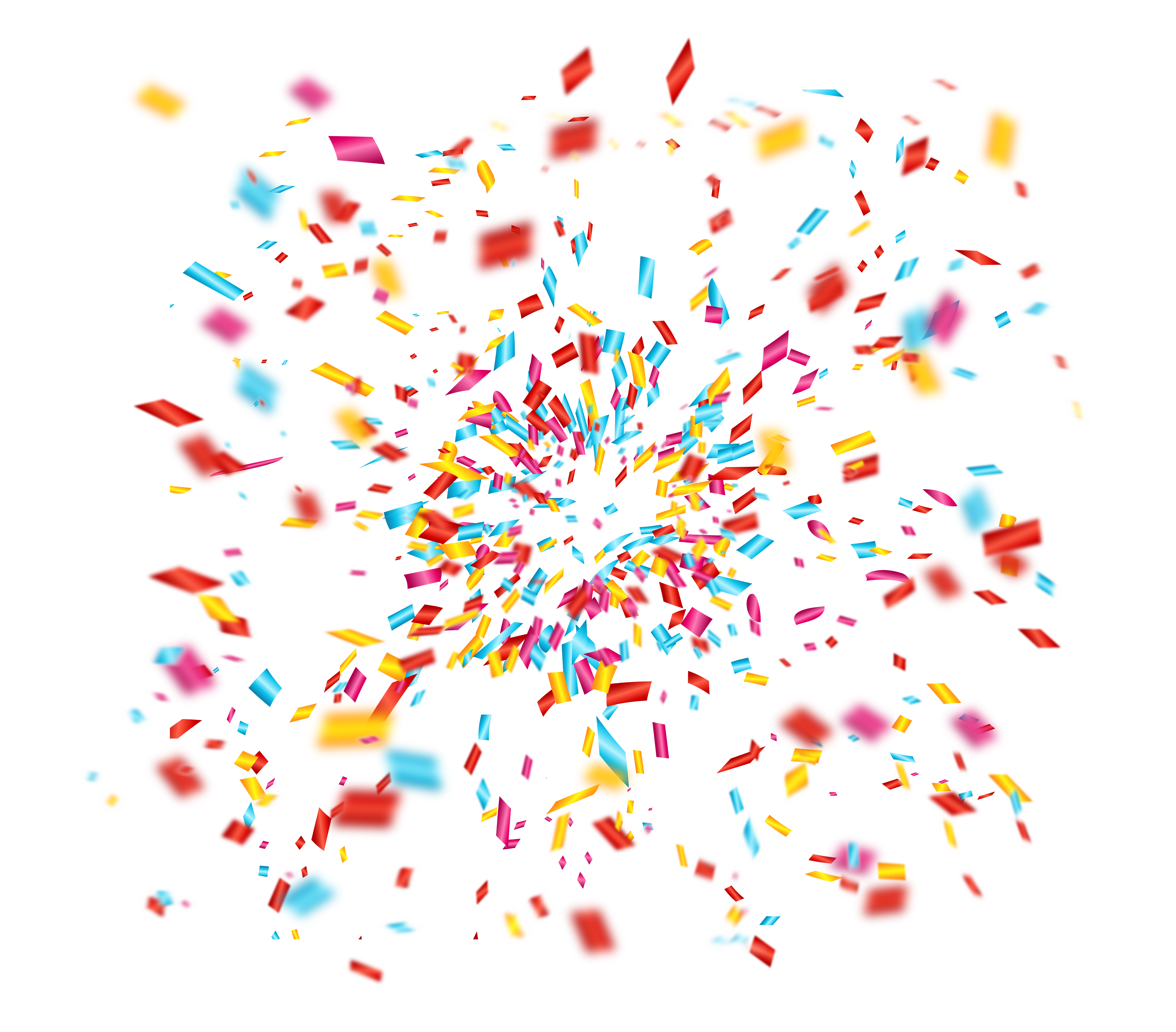Party confetti png. Clip art celebrate fireworks