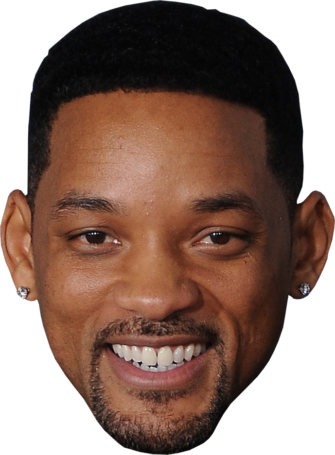 Celebrity face png. Willsmith actors celebs singers