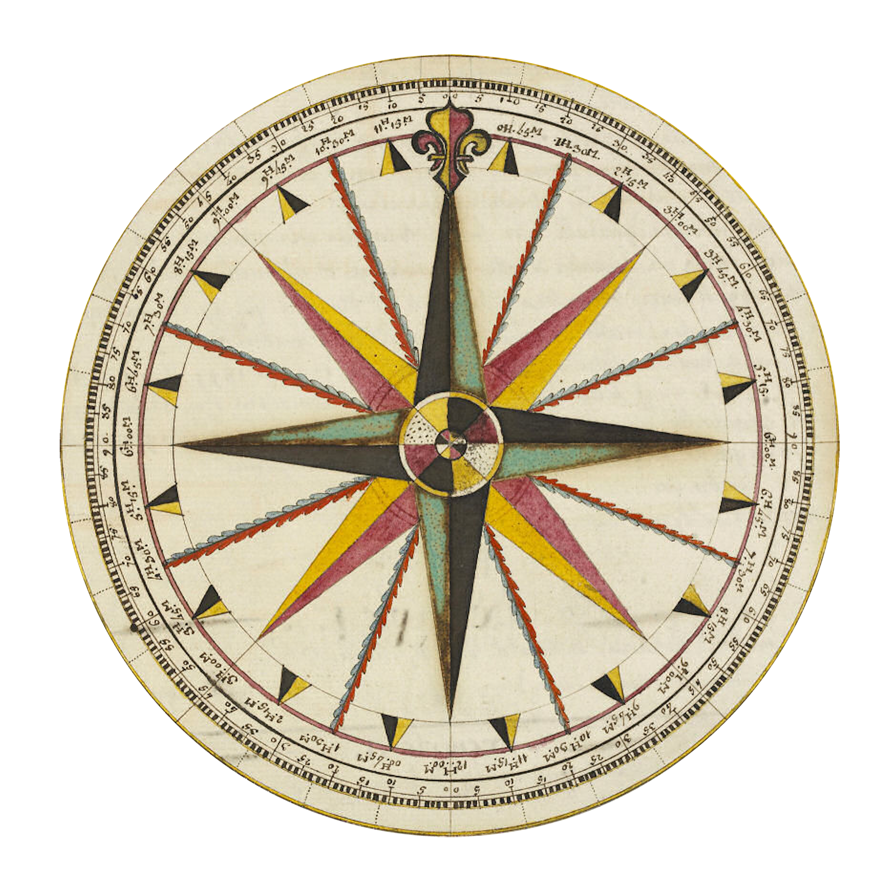 Celestial drawing compass. Rose garden roses navigation