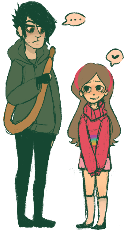Fanart drawing gravity falls. Mabel and robbie cartoons