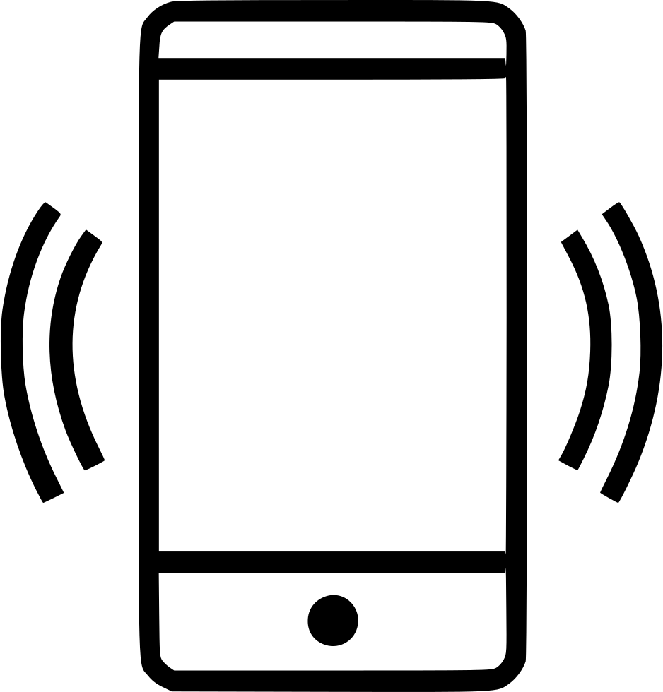 Cell phone png icon. Connected wifi connection svg